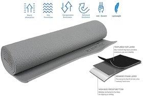 Strauss Yoga Mat, 6 MM (Grey)