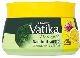 Vatika Hair Styling Cream Dandruff Guard 140ml (Pack Of 1)