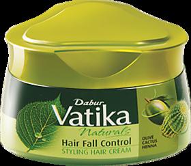 Vatika Hair Styling Cream Hairfall Control 140ml (Pack Of 1)