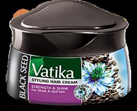 Vatika Strength  Shine For Weak  Dull Hair Black Sesame Cream 140ml (Pack of 1)