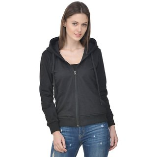 Raabta Fashion Black Sweatshirt for Women