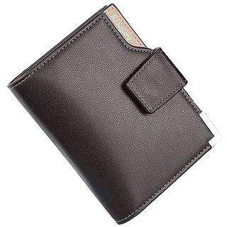 Baellerry Stylish Leather bi-fold Wallet Credit Card Holder