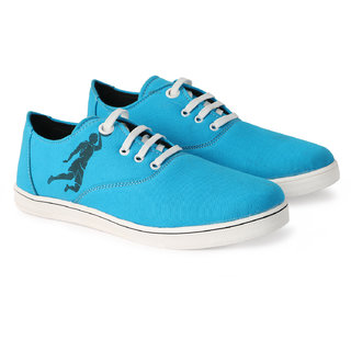Bombayland Sky Blue Casual Shoes for Men