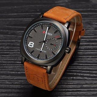 Curren Business Man Quartz fashion Vogue Sport Casual Wrist Watch