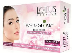 Lotus Herbals white glow facial kit