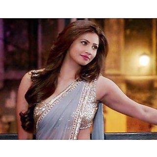 Jai Ho Grey Bollywood Designer Saree