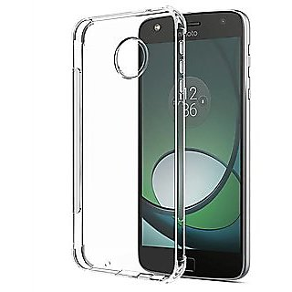 SAVINGUP MOTO E4+ / E4 PLUS Soft Silicon Transparent Back Case Cover