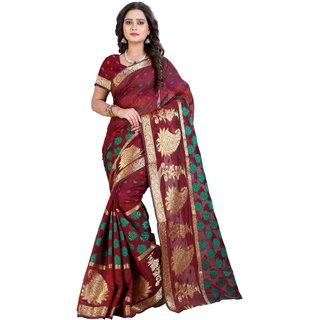 Risera Cotton Silk Woven Bollywood Women's Saree