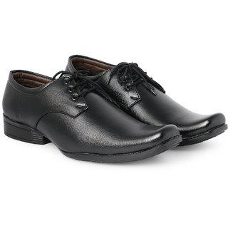 Bombayland Black Formal Shoes for Men