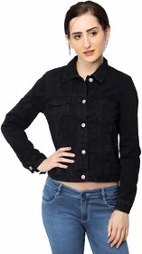 KOTTY Women's denim jacket