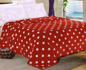 Welhouse India Star Printed Double bed ac blanket