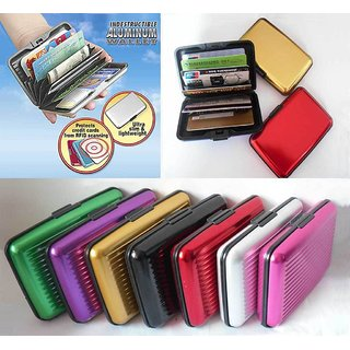 Aluma Wallet (Set of 2 Pcs) - Assorted Colours