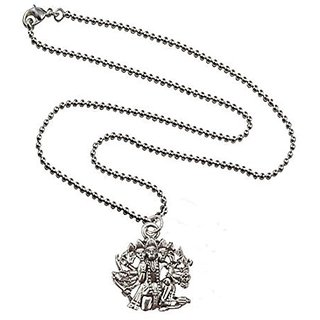 Buy mens jewellery fashion silver toned panchmukhi hanuman alloy mens jewellery fashion silver toned panchmukhi hanuman alloy pendant aloadofball Choice Image