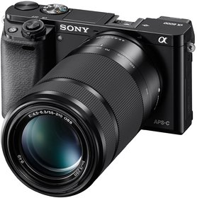 Sony Alpha Ilce-6000Y (Body With Selp1650 And Sel55210 Lens) Dslr Camera