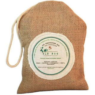 The Tree Company Air Bag - Air Purification Bag  Deodorizer,Naturally Purifies Air/Natural Air Purifier,200 (Gm)
