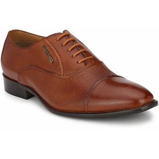 Alberto Torresi Mens Tan Formal Shoe