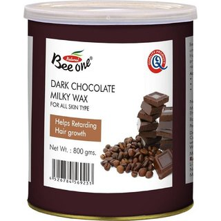 GoodsBazaar Beeone Dark Chochlate Wax (800 Grams)