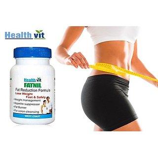 Buy 1 Get 1 Free HealthVit FATNILE Fat Burner & Weight Loss 60 Capsules (Pack Of 2)