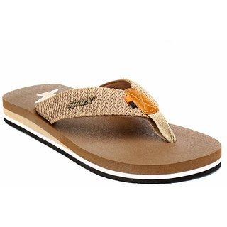 Sparx Men Camel Flip Flop & Slippers