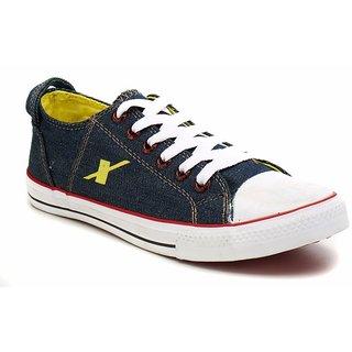 Sparx Men Blue & Yellow Sneakers