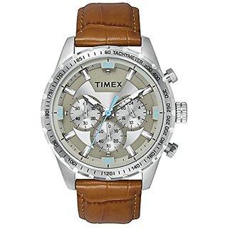 Timex Analog Grey Round Watch - TWEG15600