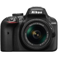 Nikon D3400 24.2 MP Digital SLR Camera (Black) + AF-P D