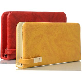 Clementine Women's Clutch Combo Red And Yellow (sskclem263)