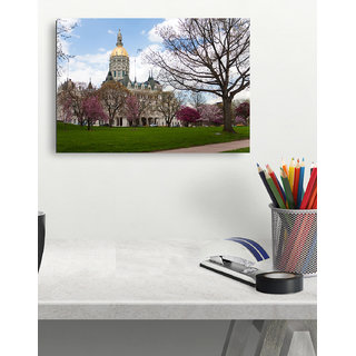Connecticut State Capitol Poster (18X12inch)