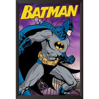 EJA Art Batman The Urban Legend Comics Poster (12x18 inches)