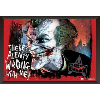 EJA Art Joker Poster Arkham City Artwork Poster (12x18 inches)