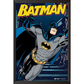EJA Art Batman The Urban Legend Comics Poster (12x18 inches)