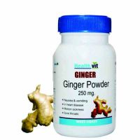 Buy 1 Get 1 Free HealthVit Ginger Powder 250 Mg 60 Capsules  (Pack Of 2)
