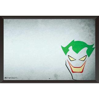 EJA Art Joker Comic Artwork Poster (12x18 inches) With Frame