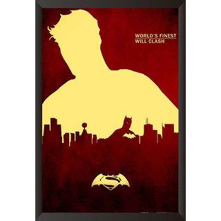 EJA Art Batman Vs Superman Official Artwork Poster (12x18 inches)