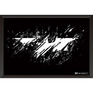 EJA Art Batman Logo The Dark Knight Official Artwork Poster (12x18 inches)