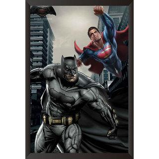 EJA Art Batman Vs Superman Official Artwork Poster (12x9 inches)