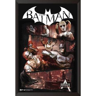 EJA Art Batman Arkham City Artwork Poster (12x9 inches)