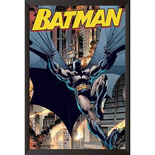 EJA Art Batman The Urban Legend Comics Poster (12x9 inches)