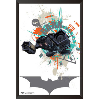 EJA Art The Bat The Dark Knight Rises Artwork Poster (12x9 inches)