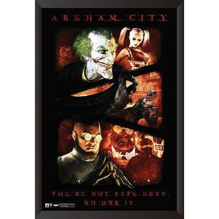 EJA Art Arkham City Artwork Poster (12x9 inches)