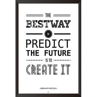 Abraham Licoln Quote Poster