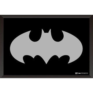 EJA Art Dc Batman Logo Poster (12x18 inches)