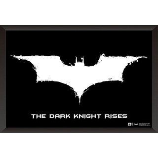 EJA Art Batman Logo The Dark Knight Rises Poster (12x18 inches)