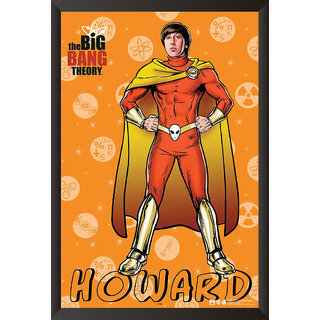 EJA Art The Big Bang Theory: Howard Poster (12x18 Inches)