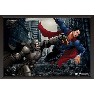 EJA Art Batman Vs Superman Official Artwork Poster (12x9 inches)