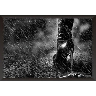 EJA Art The Dark Knight Rises Artwork Poster (12x18 Inches)