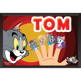 EJA Art Tom And Friends Poster (12x18 Inches)