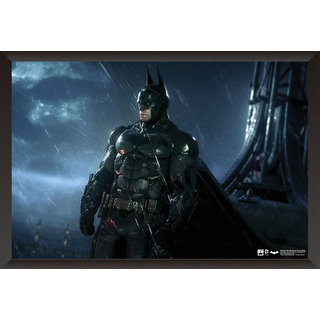 EJA Art Batman Arkham Origins Artwork Poster (12x18 Inches)