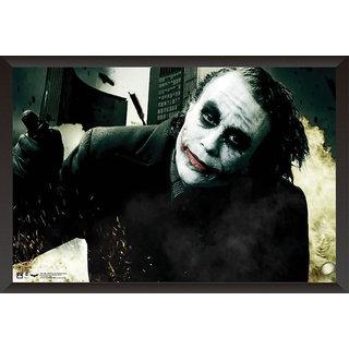 EJA Art Joker Heath Ledger Poster (12x18 Inches)