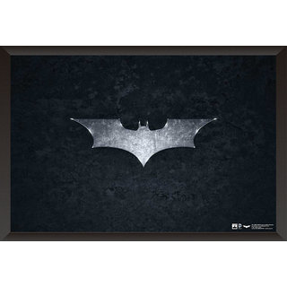 EJA Art Batman Logo The Dark Knight Poster (12x18 Inches)